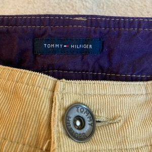TOMMY HILFIGER   RETRO-Inspired TAN Cordoroy Pant